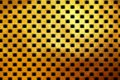 Square pattern golden texture shiny luxurious abstract background Royalty Free Stock Photo
