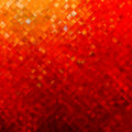 Square pattern in red and orange colors. EPS 8 Royalty Free Stock Photo