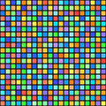 Square pattern. Vector seamless geometric tile background Royalty Free Stock Photo