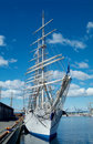 Square-rigger in Oslo Royalty Free Stock Photo