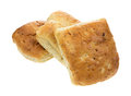 Square sandwich rolls Stock Images