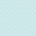 Seamless Pattern Abstract Honeycombs Blue And White