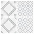 Square shaped surface as seamless background Stock Images