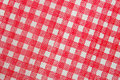 Square tablecloth Royalty Free Stock Photography
