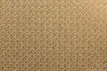 Square textured golden paper seamless with rhombs Stock Image