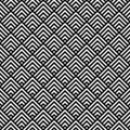 Square tile. Geometric seamless pattern. Royalty Free Stock Photo