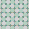 square tilt with Octagon tiles pattern in vector.