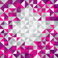 Square triangle modern background triangles in different colors blank backdrop with space for content and shiny Royalty Free Stock Images