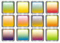 Square varicoloured elements of design Royalty Free Stock Photos