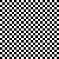 Černobílý zkontrolovat vzor