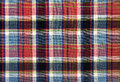 Squared textile texture for background Royalty Free Stock Photography
