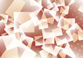 Squares background with dots Stock Photography