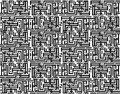Squares black and white pattern. Royalty Free Stock Photos