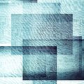 Squares blue tone abstract background Royalty Free Stock Image