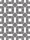 Squares and bricks abstract seamless pattern background Royalty Free Stock Image