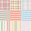 Squares, dots, strips Royalty Free Stock Photo