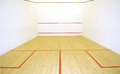 Squash court Royalty Free Stock Photo