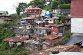 Squatter homes baguio city philippines july built on a hillside on july in baguio city philippines Royalty Free Stock Photography