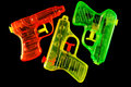 Squirt Guns Royalty Free Stock Photos