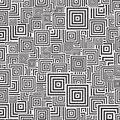 Squre pattern Stock Image