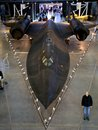 Sr blackbird lockheed in the air and space museum in chantilly virginia Stock Image