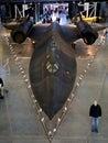 SR-71 Blackbird Royalty Free Stock Photo