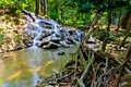 Sra nang manora phangnga nation forest waterfall park Royalty Free Stock Photography