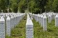 The Srebrenica-Potocari memorial and cemetery