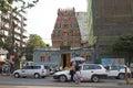 Sri Kali temple in Yangon, Myanmar Royalty Free Stock Photo
