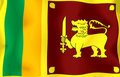 Sri Lanka Flag Royalty Free Stock Image