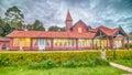 Sri Lanka, Nuwara Eliya: colonial British post office Royalty Free Stock Photo