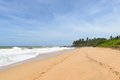 Sri lanka west coast the coastline of beaches Stock Photos
