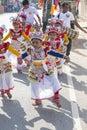 Sri lankan children involved in the katina festival mirissa sri lanka november unidentified which held according to buddhist Stock Images