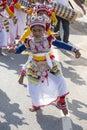 Sri lankan children involved in the katina festival mirissa sri lanka november unidentified which held according to buddhist Stock Photography