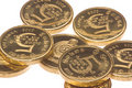 Sri Lankan Coins Macro Isolated Royalty Free Stock Photo