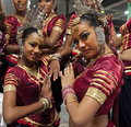 Sri Lankan traditional dancers Royalty Free Stock Image