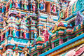 Sri mahamariamman temple architectural detail of near chinatown in kuala lumpur malaysia the is the oldest hindu in Royalty Free Stock Image