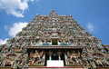 Sri meenakshi temple madurai india ornate facade of hindu Royalty Free Stock Image