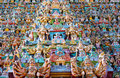 Sri meenakshi temple madurai india ornate facade of hindu Stock Photo