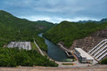 Sri Nakharin Dam. Royalty Free Stock Photo