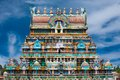 Sri ranganathaswamy temple india great south indian architecture over blue sky south tamil nadu thanjavur trichy Stock Photos