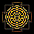 Sri Yantra Chakra Royalty Free Stock Photo