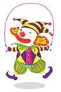 Série de clown Photo libre de droits