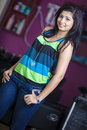 Srilanka s top dancer new actress beautician news paper photoshoot at colombo Stock Photos