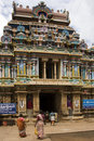 Srirangam - Tamil Nadu - India Stock Photography
