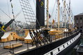 Ss great britain bristol uk deck of the restored museum ship and former passenger steamship Royalty Free Stock Images