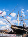 Ss great britain a transatlantic passenger steamship designed by isambard kingdom brunel and now an award winning visitor Stock Image
