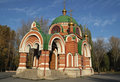 SS. Peter and Paul Temple. Lipetsk. Russia. Royalty Free Stock Image