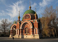 SS. Peter and Paul Temple. Lipetsk. Russia. Royalty Free Stock Photography