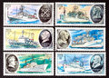 SSR - CIRCA 1979- a series of stamps printed in USSR, shows research ships, CIRCA 1979